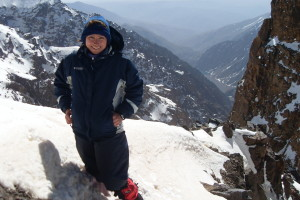 Climbing Morocco Tizi NOuanoums CB