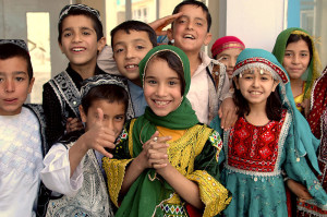 Afghan_Schoolchildren_in_Kabul-by-Robert Romano