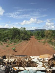 travel Senegal, Senegal road to horizon