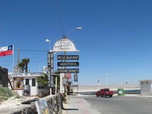 Chile,Bahia Inglesa,Town of Bahia Inglesa,English Bay,Street in Bahia Inglesa