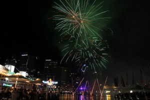 Sydney Festival fireworks (FlickrCreativeCommons) credit to: BeauGiles