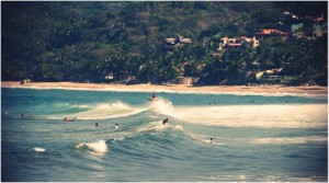 Surfing Sayulita Mexico