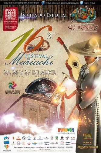 Festival del Mariachi -cartel