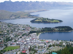 Queenstown view - Amy Huang