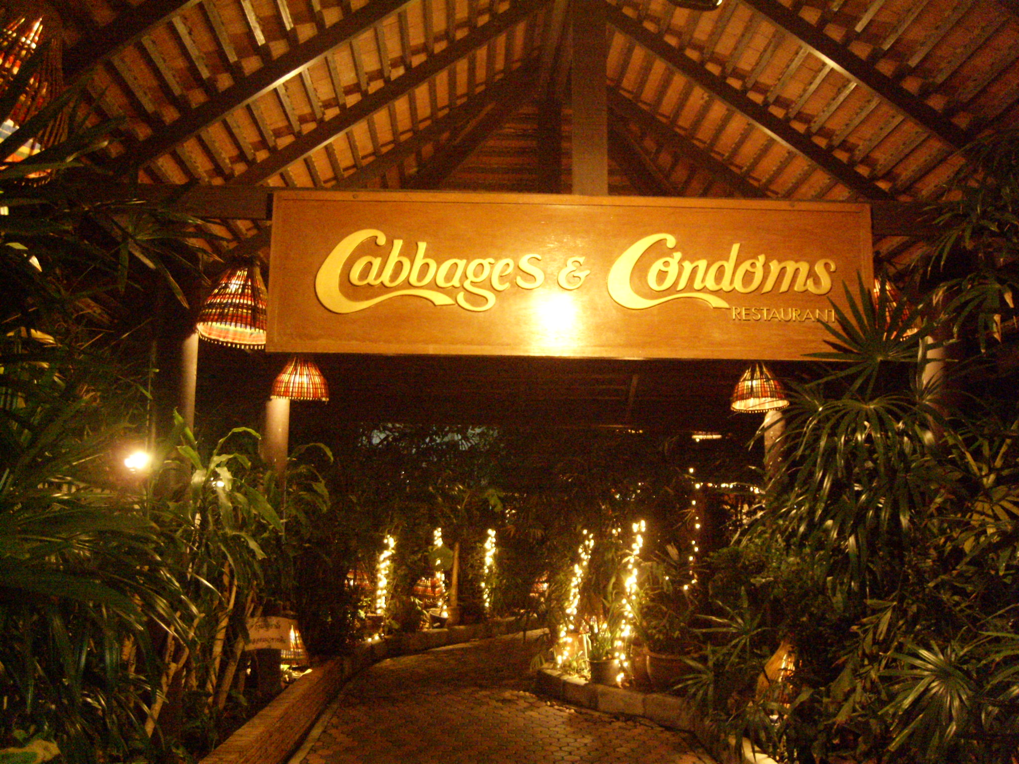 Cabbages and Condoms, Bangkok - In the Know Traveler